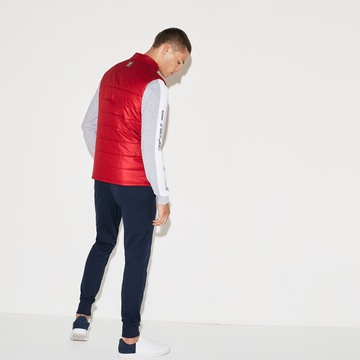 『Olympic Heritage Collection by Lacoste』キルティングベスト