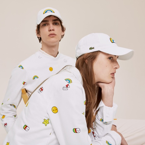 『Lacoste x FriendsWithYou』 キャップ