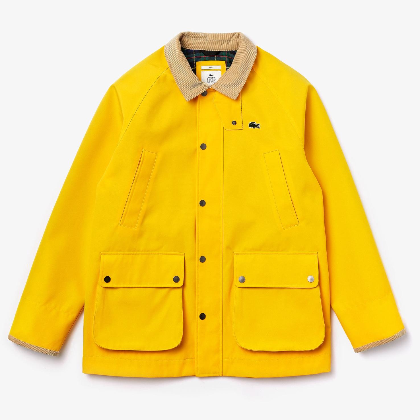 LACOSTE L!VE ユニセックス キャンバスフィールドジャケット