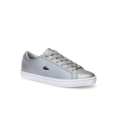 Black Womens Lacoste Straightset 318 2 Sneakers Casual