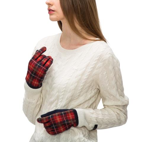 タータンチェック手袋
