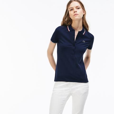 70283ca5fa44 ウィメンズ スリムフィット ポロシャツ (半袖) PF4897L - ラコステ ...