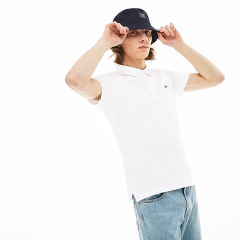 a6cbc17648c1 メンズ ポロシャツ - 大きいサイズ スリムフィットポロシャツ (半袖 ...