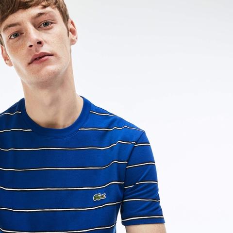 ボーダー クルーネックTシャツ (半袖)
